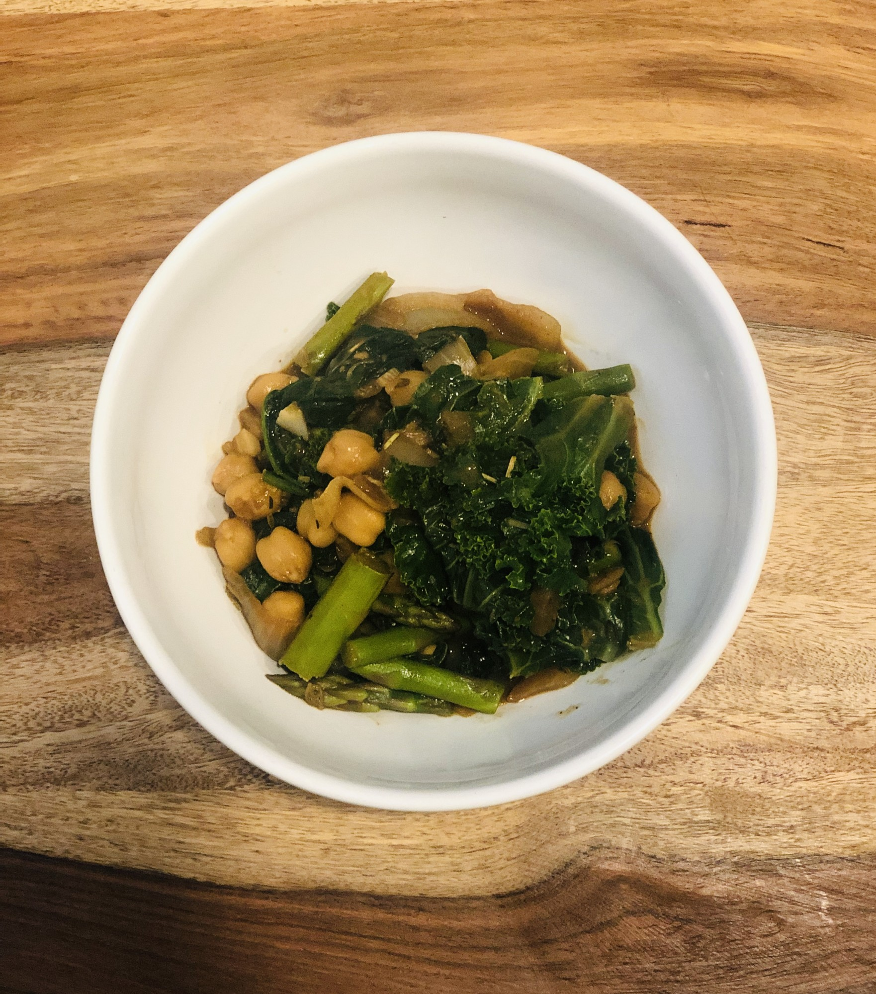 Thai Chickpea Stir Fry