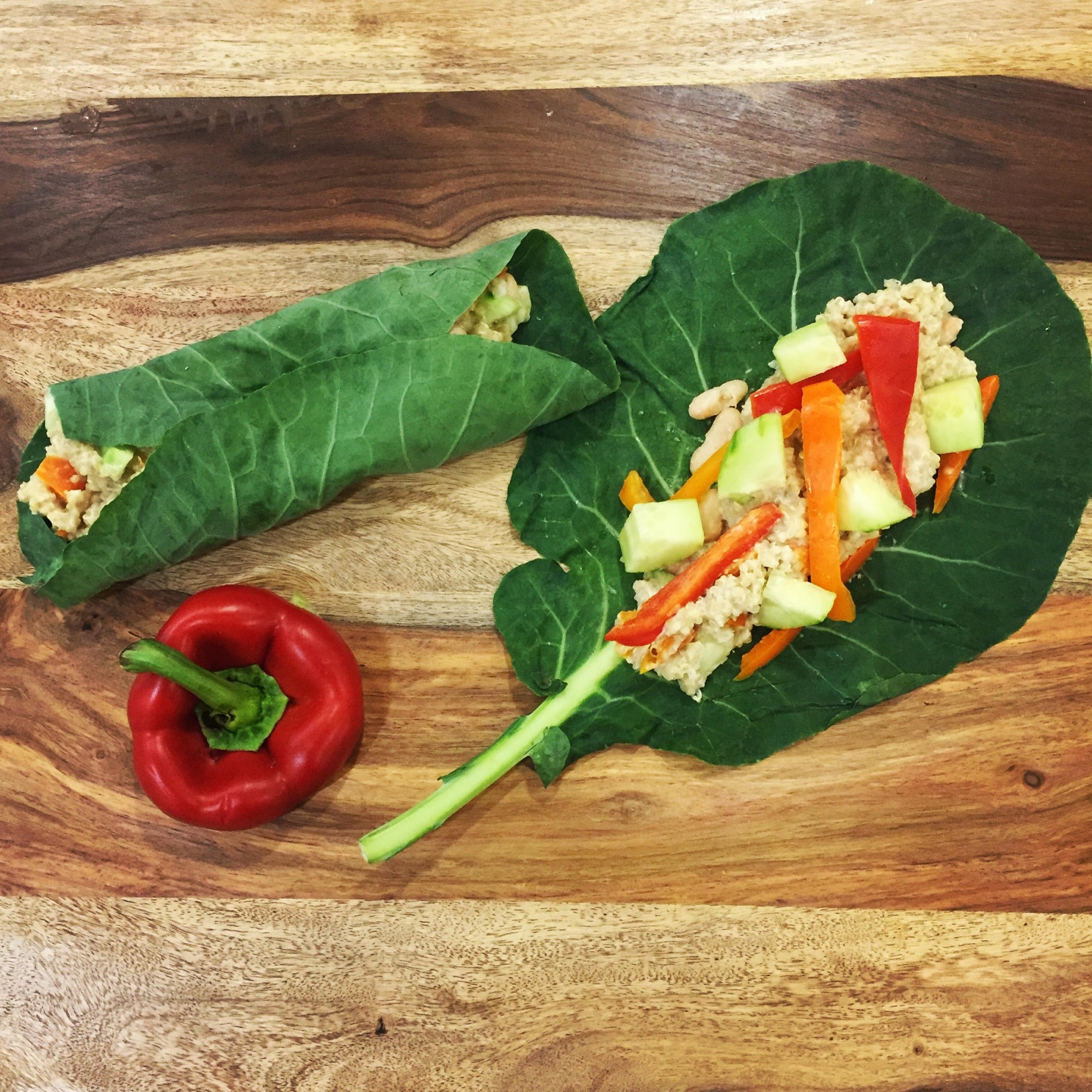 Wellness Wraps & Hummus Recipes