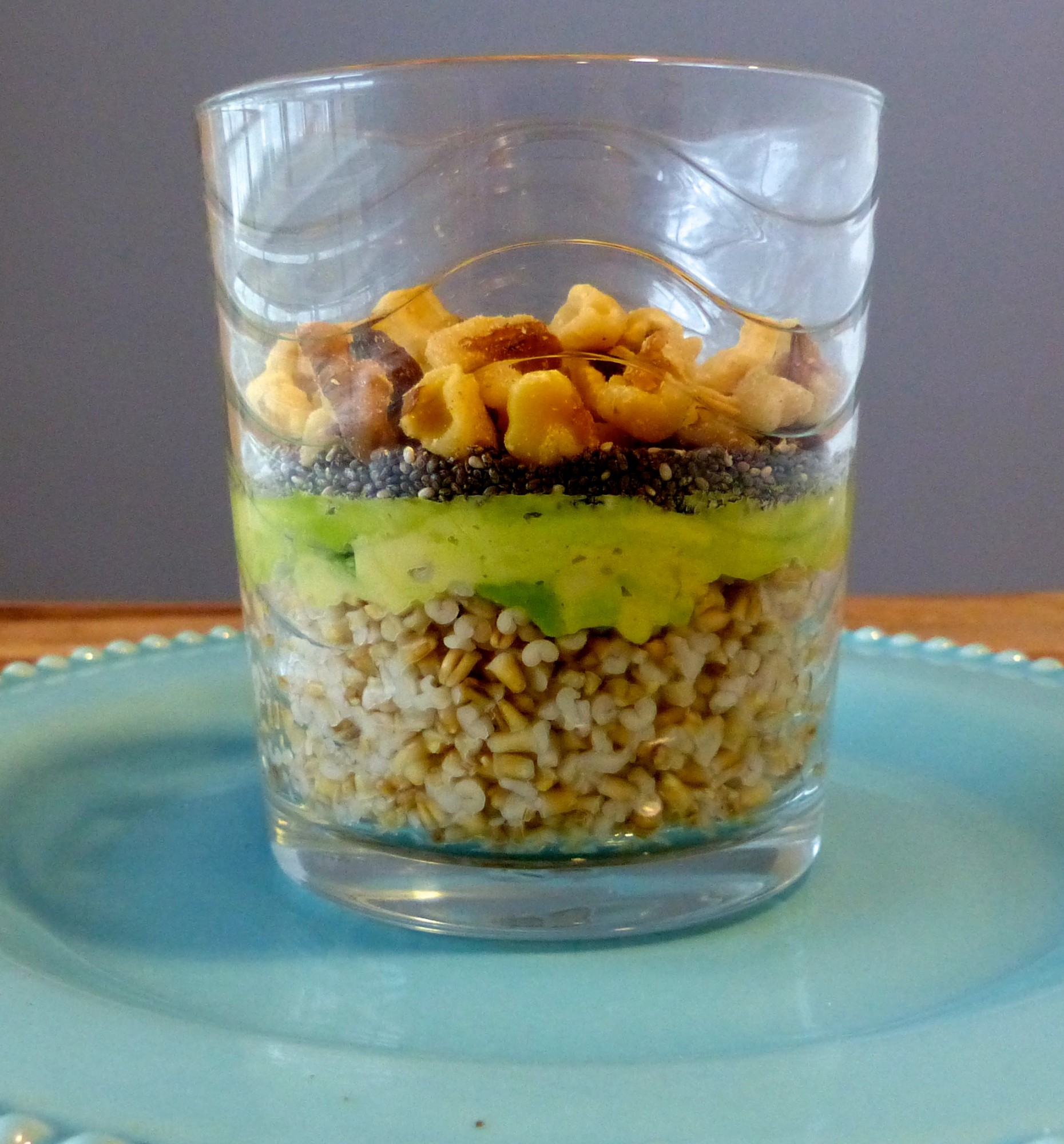 Steel Cut Oats Breakfast Blend with lots of Omega 3's