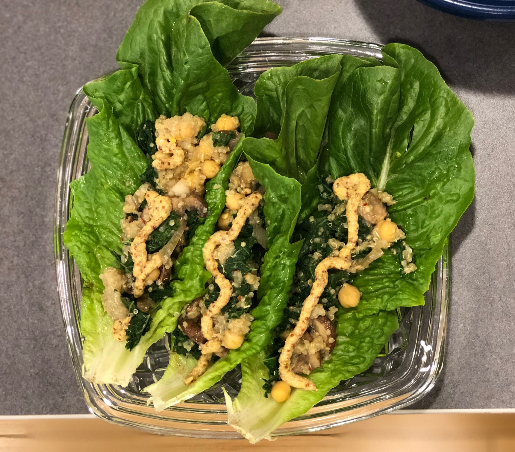 Quinoa Romaine Boats